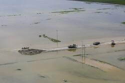 ۱۰۰ نقطه از محورهای مواصلاتی گلستان در سیلاب تخریب شد
