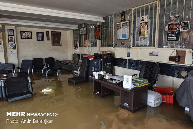 سیلاب دوباره به شیراز رسید - دومین روز سیلاب در شیراز