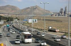 ۲۲ میلیون تردد در محورهای مواصلاتی استان قزوین ثبت شد