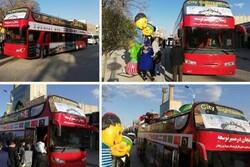 اتوبوس ویژه گردشگری در زنجان راهاندازی شد