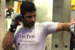 مبارزه کاپیتان پیشین تیم ملی کاراته ایران برابر حریف کانادایی