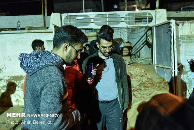 Relief to flood victim families in Shiraz