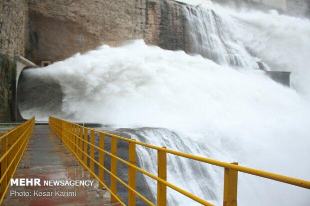 فروردین ماه امسال ۱۵ میلیارد مترمکعب آب وارد سدهای خوزستان شد