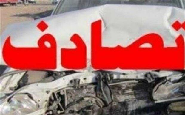 تصادف در کمربندی شمالی زنجان یک کشته و دومصدوم برجا گذاشت