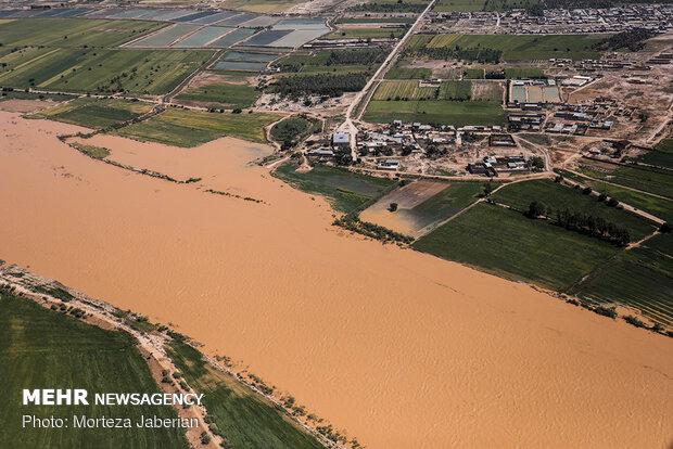 محافظ خوزستان: تراجع حجم المياه المتدفقة على سدود خوزستان