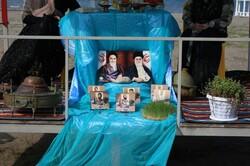 جشنواره سفره «هفت سین» در آستانه اشرفیه برگزار شد