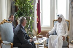 أمير قطر يتسلم رسالة من نظيره الروسي