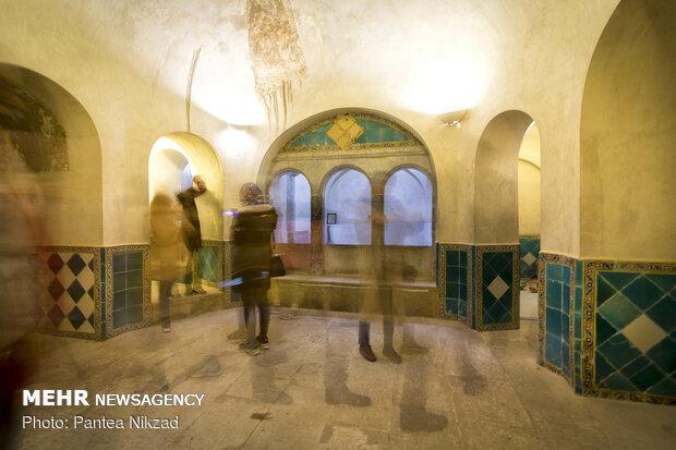 گردشگران نوروزی در قلعه چالشتر