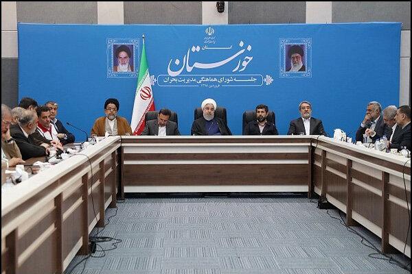 A racist, lawbreaking, war-mongering group rule in White House: Rouhani