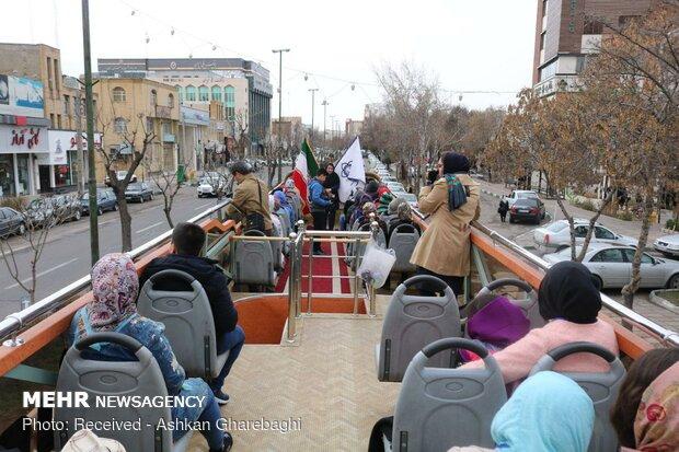 Turistlere ücretsiz özel gezi otobüsü