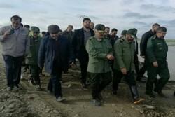 اللواء جعفري يصل لرستان لتعزيز جهود إغاثة منكوبي السيول