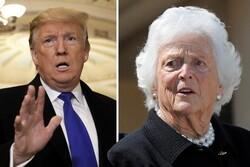 مادر بوش: ترامپ طمعکار، خودخواه و زشت است
