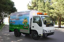 سامانه دریافت زبالههای خشک منازل در سمنان آغاز به کار کرد