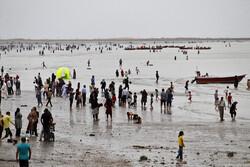 بندر عباس کے سواحل پر نوروز کے مسافروں کا حضور