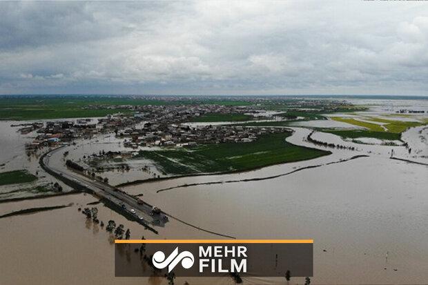 صوبہ گلستان میں سیلاب کی صورتحال