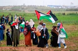 """غزة تتجهز لجمعة """" الجولان سورية عربية """""""