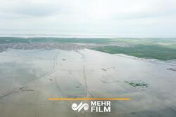 وضعیت نابسامان گمیشان در دهمین روز پس از وقوع سیل