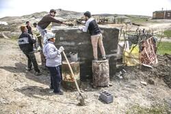 تعمیر ۱۲ باب از منازل آسیبدیده در سیل توسط گروههای جهادی نهاوند