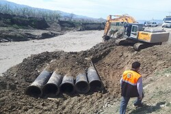 بازگشایی بخشی از راه روستایی «مرگسر» شهرستان الیگودرز