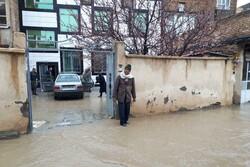 ۵ منزل مسکونی در منطقه قاسم آباد همدان تخلیه شد