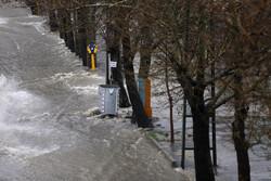 سعودی عرب میں شدید بارش اور ژالہ باری
