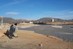 بازدید آیت الله ملک حسینی از زیرساخت های آسیب دیده شهر یاسوج