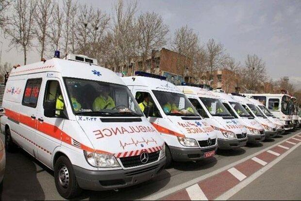 امدادرسانی اورژانس به ۲۰۱ نفر در مراسم تشییع شهید سپهبد سلیمانی