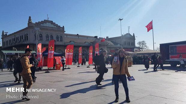 Türkiye'deki seçimlerden kareler