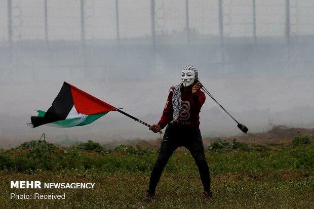 غزہ میں وطن واپسی پر مبنی مظاہرون میں 79 افراد زخمی