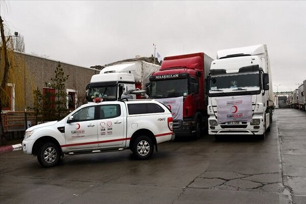 Turkish Red Crescent dispatches help to flood-hit areas in Iran