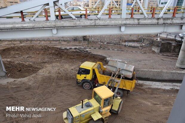 إجراءات تمهيدية تحسبا لتدفق الفيضانات