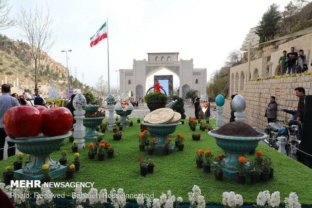 Kadim kent Şiraz'da Nevruz havası