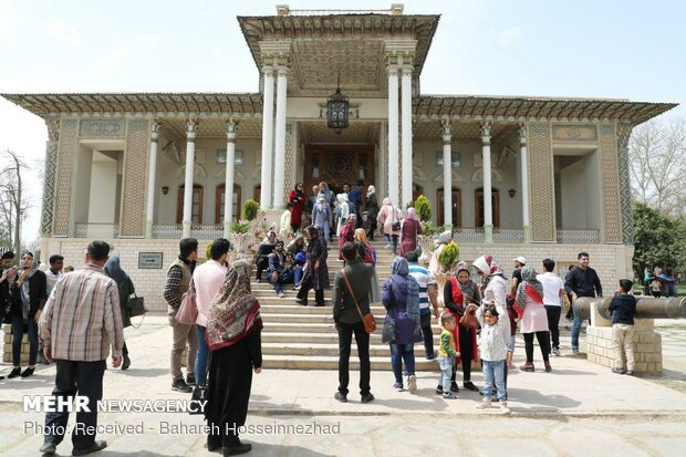 Shiraz tourist attractions in spring