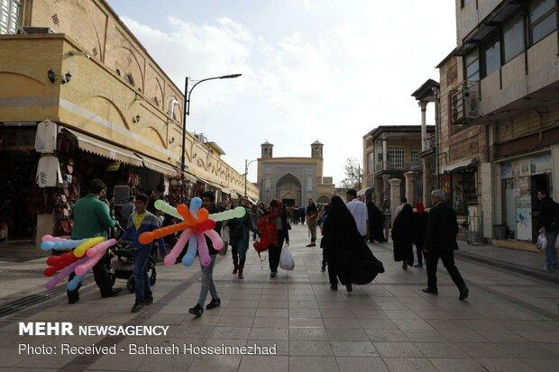 جاذبه های گردشگری شیراز میزبان مسافران نوروزی