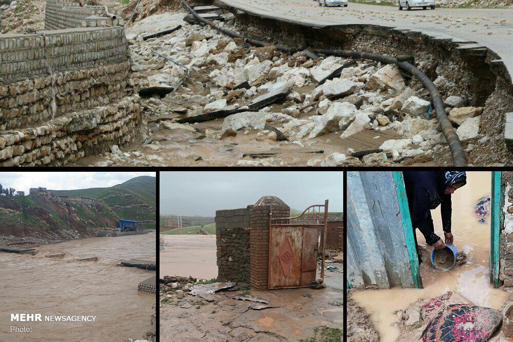 رئیس جمهور برای تأمین اعتبار پروژههای سیلاب لرستان قول مساعد داد