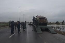نفر برهای قرارگاه ارتش در کرمانشاه وارد شهرستان دلفان شدند