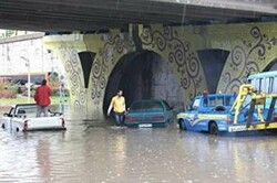 بارش باران در کرمانشاه تنها یک مصدوم داشت