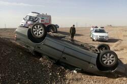 حوادث ترافیکی شرق استان سمنان ۱۳ مصدوم برجای گذاشت