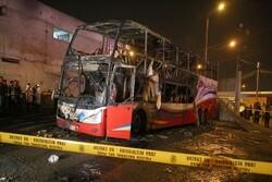 Peru'da otobüste yangın: 20 ölü
