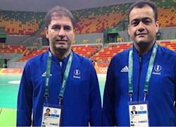 درخشش داور بین المللی تبریزی در مسابقات آسیایی هندبال