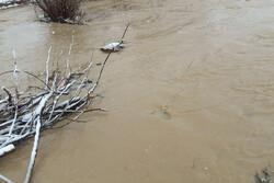 شکستگی خط انتقال آب در«بیتروان»اسدآباد/رانش زمین در «ترخین آباد»