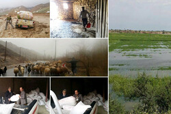 خسارت ۶۷۰۰ میلیارد تومانی سیل به بخش کشاورزی/خسارت در خوزستان درحال افزایش است