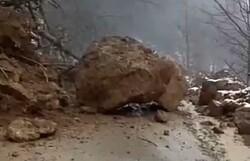 ریزش کوه در طارم قزوین یک کشته برجای گذاشت