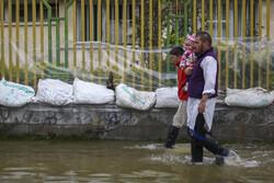 آبگرفتگی شهر آققلا به کمتر از ۱۲ درصد رسید