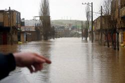 فیلمی از وضعیت سیلاب در «نورآباد»