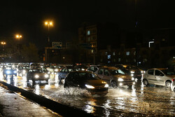 Heavy rains in capital Tehran
