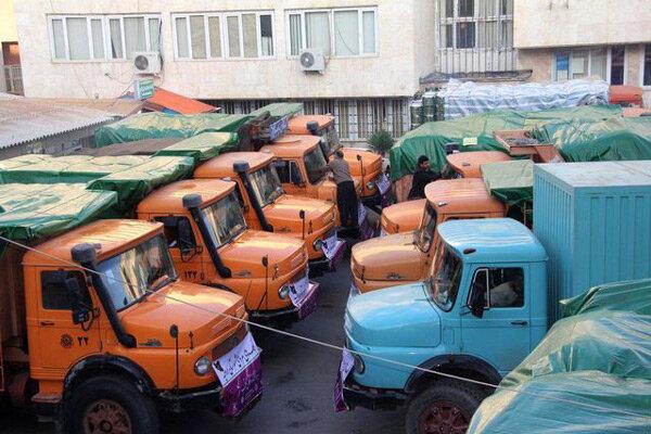 سپاه پاسداران استان قزوین ۱۵ محموله به گلستان ارسال کرد