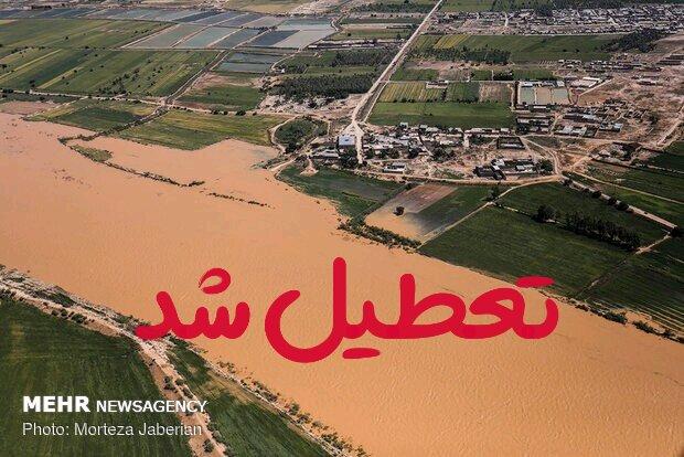تعطیلی مدارس و دانشگاه های خوزستان تمدید شد