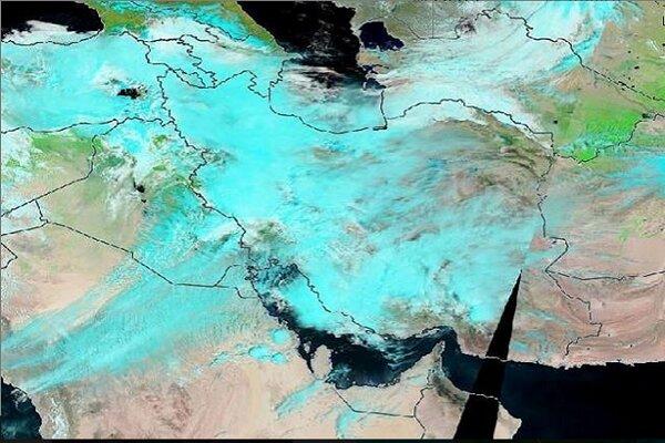 پایش ماهواره ای آخرین وضعیت سیل در جنوب خوزستان