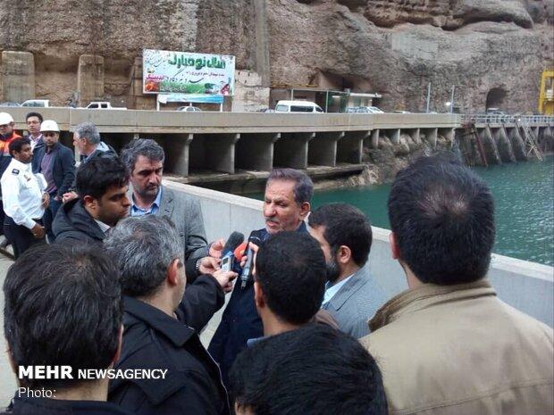 الهلال الاحمر  الايراني يؤوي نحو ستة الاف منكوب جراء الفيضانات بخوزستان